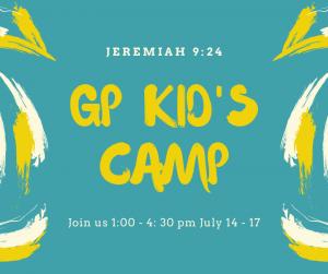 GP Kid's Camp