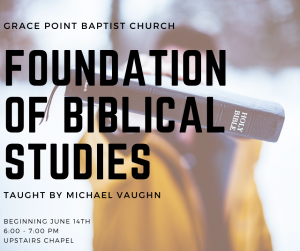 Foundation of Biblical Studies